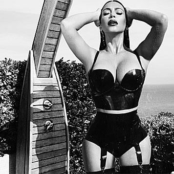 Die heißen Bilder entstanden noch vor Kim Kardashians zweiter Schwangerschaft. (Bild: instagram.com/kimkardashian)