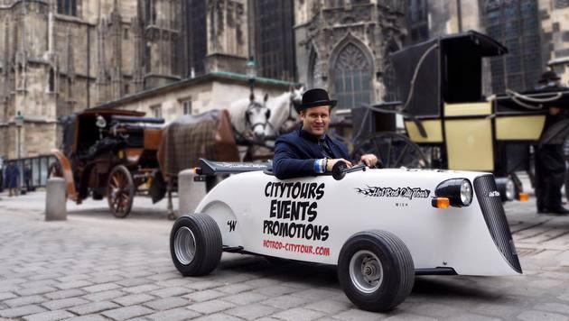 """""""Scharf durch die City: Die coolsten Touren! (Bild: facebook.com/hotrodcitytour.wien)"""""""