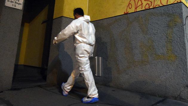 40-Jährige erstochen in Stiegenhaus aufgefunden (Bild: APA/HERBERT P. OCZERET)