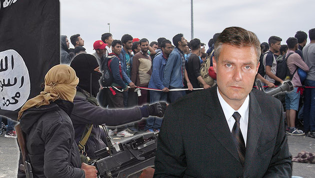 Anti-Terror-Experte Gert Polli (Bild: facebook.com, APA/ERWIN SCHERIAU, CHRISTOPH MATZL)