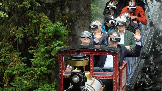 Echte Achterbahnfahrt durch virtuelle Realität (Bild: Europa Park)