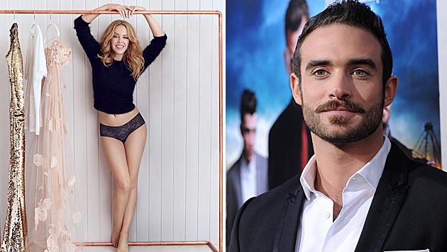 Kylie Minogue schwebt derzeit mit Joshua Sasse auf Wolke sieben. (Bild: Viennareport)