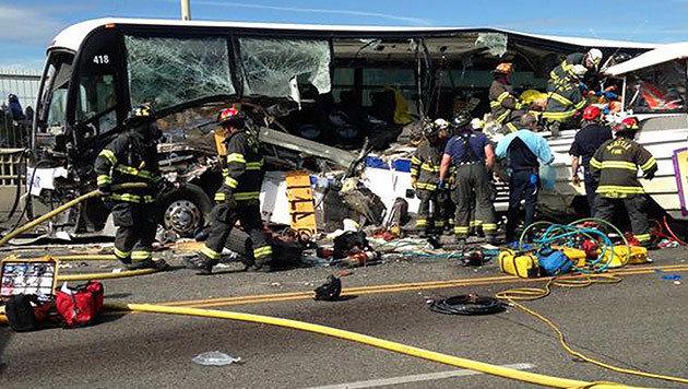 Steirerin bei tragischem Unfall in Seattle getötet (Bild: APA/EPA/SEATTLE FIRE DEPARTMENT)