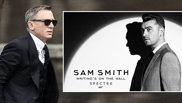 "Zu ""Spectre"": So klingt der neue Bond-Song (Bild: APA/EPA/ANGELO CARCONI, facebook.com/samsmithworld)"