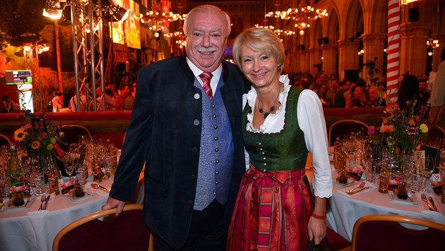 Bürgermeister Michael Häupl mit Ehefrau Barbara (Bild: Andreas Tischler)