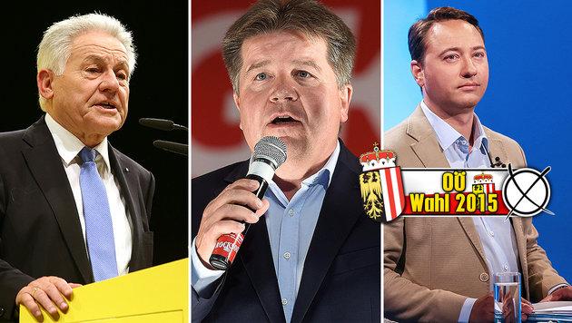 Kandidaten auf Stimmenfang bis spät in die Nacht (Bild: APA/FOTOKERSCHI.AT/HANNES DRAXLER, APA/HELMUT FOHRINGER)