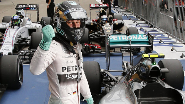 """Pole""-Mann Nico Rosberg (Bild: AP)"