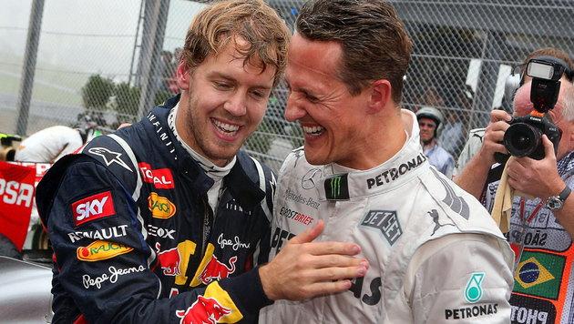 """""""Vettel vom Charakter her besser als Schumacher"""" (Bild: APA/EPA/JENS BUETTNER)"""