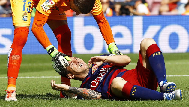 Nierenkolik! Messi fehlt FC Barcelona bei Club-WM (Bild: APA/EPA/QUIQUE GARCIA)