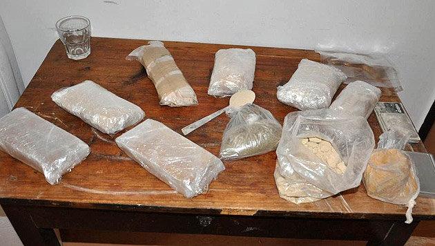 Drogenbande in Wien zerschlagen - 18 Festnahmen (Bild: LPD WIEN)