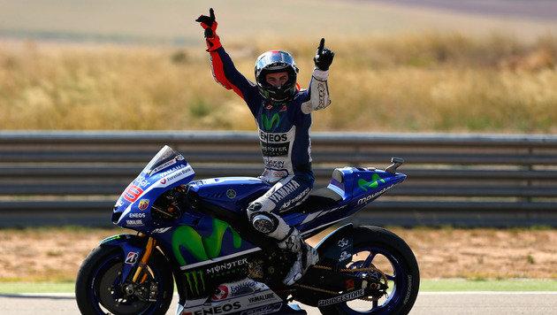MotoGP: Lorenzo macht WM-Kampf spannend (Bild: AP)