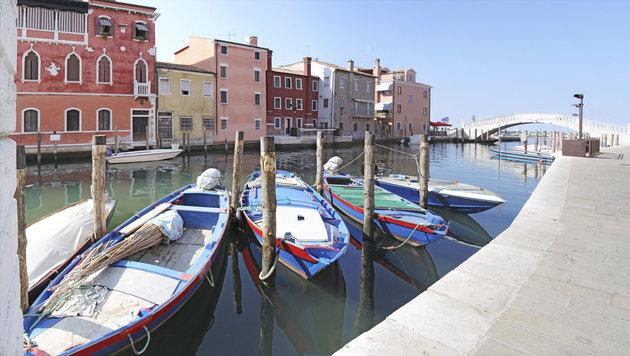 In der Lagune von Chioggia sieht es fast genauso aus, wie in Venedig. (Bild: thinkstockphotos.de)