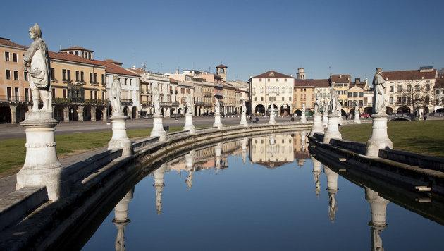 Der Prato in Padua ist ein eindrucksvoller Platz. (Bild: thinkstockphotos.de)