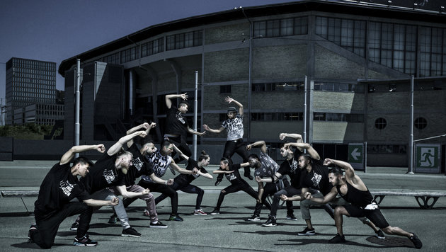 Flying Illusions: Breakdance der Extraklasse (Bild: Red Bull)