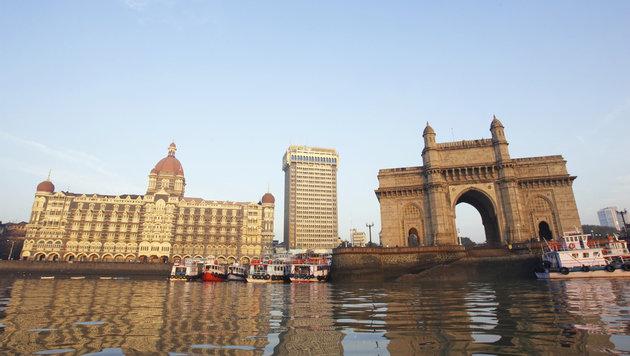 Der alte Hafen von Mumbai (Bild: (c) Thomas Brown)