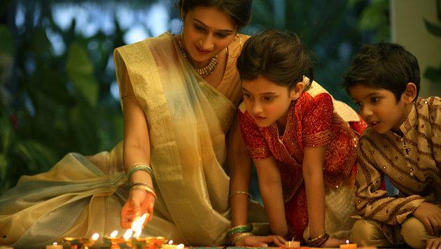 Der Familienzusammenhalt steht in Indien an erster Stelle. (Bild: thinkstockphotos.de)