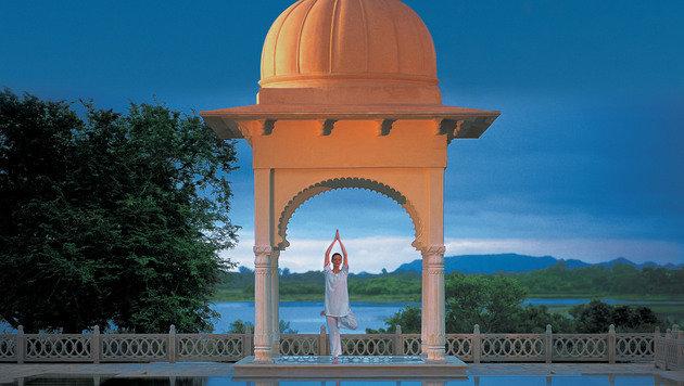 Indien ist auch die Heimat des Yogas (Bild: thinkstockphotos.de)