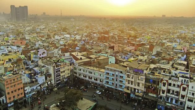 Faszinierender Moloch: Die Millionenstadt Delhi (Bild: thinkstockphotos.de)