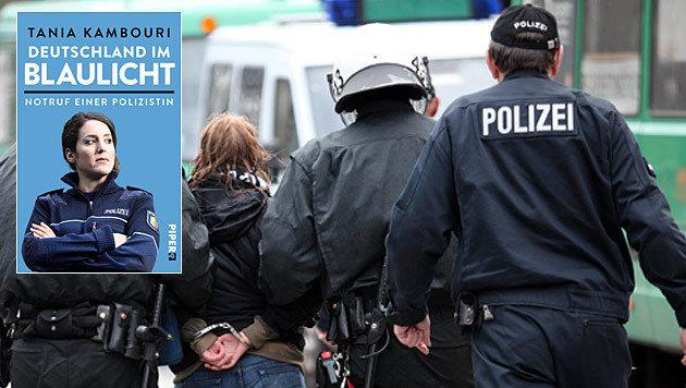 Junge Polizistin kritisiert aggressive Einwanderer (Bild: APA/dpa/Bodo Marks, Piper Verlag)