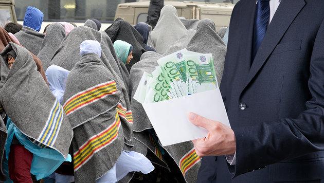 Trickdiebe tarnten sich als Spendensammler (Bild: APA/ROLAND SCHLAGER, thinkstockphotos.de)