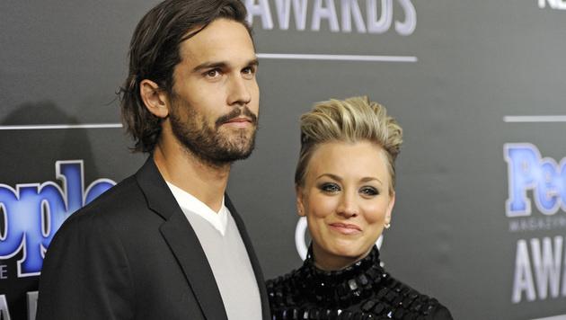 Ryan Sweeting und Kaley Cuoco lassen sich scheiden. (Bild: Chris Pizzello/Invision/AP)