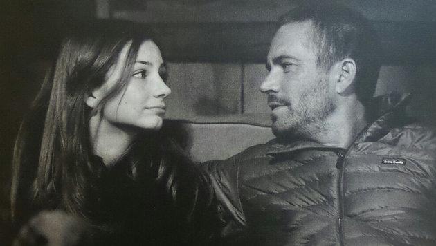 Meadow Walker mit ihrem Vater Paul Walker (Bild: facebook.com/meadowwalker)