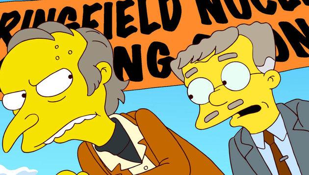 """""""Simpsons""""-Charakter Smithers (r.) ist schwul und liebt Mr. Burns (Bild: Viennareport)"""