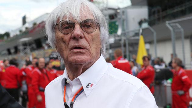 Ecclestone dementiert TV-Boykott gegen Mercedes (Bild: GEPA)