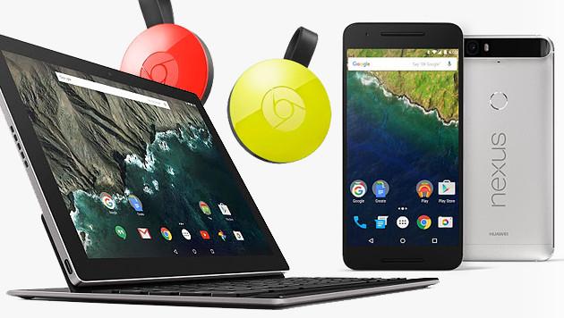 Google enthüllt neue Nexus-Handys und Pixel-Tablet (Bild: Google, krone.at-Grafik)