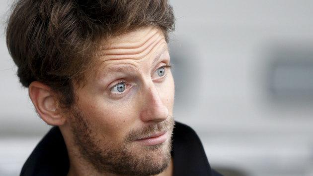 Romain Grosjean (Bild: APA/EPA/DIEGO AZUBEL)