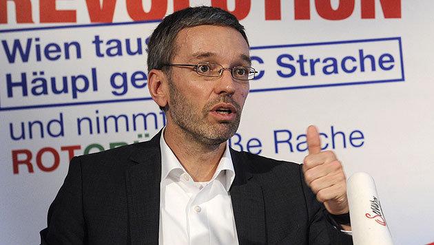 Herbert Kickl, FPÖ (Bild: APA/HERBERT PFARRHOFER)