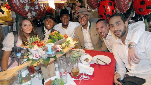 "Guardiola: ""David Alaba ist unser Gott!"" (Bild: APA/EPA/Alexandra Beier/Bongarts/Getty Handout)"
