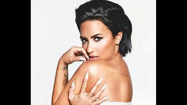 """Demi Lovato spielte in vier Episoden der Kultserie """"Glee"""" mit. (Bild: Viennareport)"""