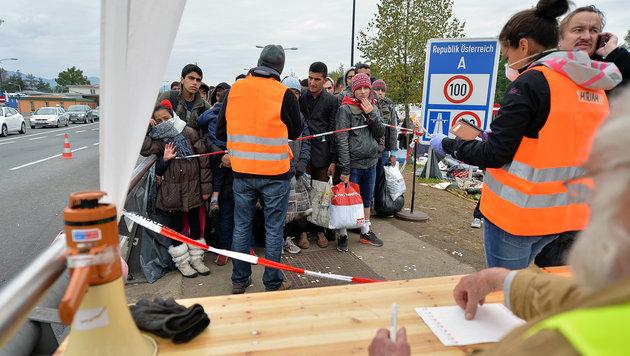 Geheimpapier aufgetaucht: Verwirrung um Asylkosten (Bild: APA/BARBARA GINDL)