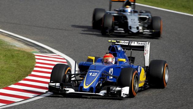 Großer Wirbel! F1-Teams gehen auf die Barrikaden (Bild: APA/EPA/DIEGO AZUBEL)