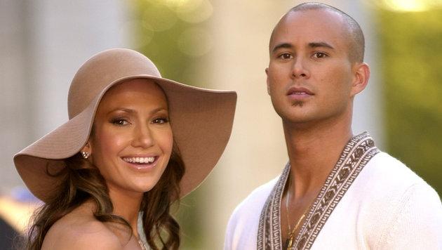 Jennifer Lopez mit ihrem zweiten Ehemann Chris Judd (Bild: Viennareport)