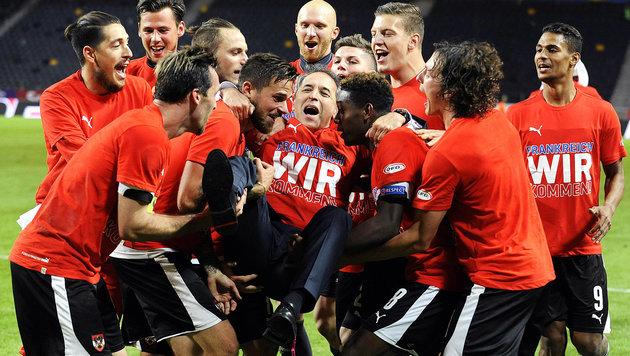 FIFA-Weltrangliste: ÖFB-Team weiterhin auf Rang 10 (Bild: APA/EPA/ROBERT JAEGER)