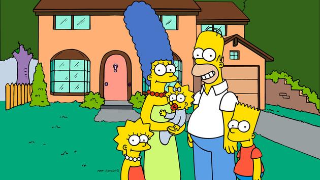 """Die Fans lieben ihre """"Simpsons"""". (Bild: AP)"""