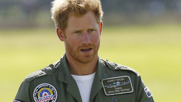 Während seiner zehnjährigen Zeit beim Militär war Harry zweimal in Afghanistan im Einsatz. (Bild: APA/EPA/LUKE MACGREGOR)