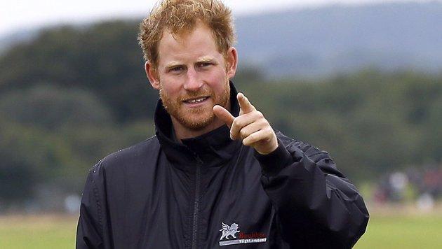 Prinz Harry ist der jüngste Sohn von Prinz Charles und Lady Diana. (Bild: AFP)