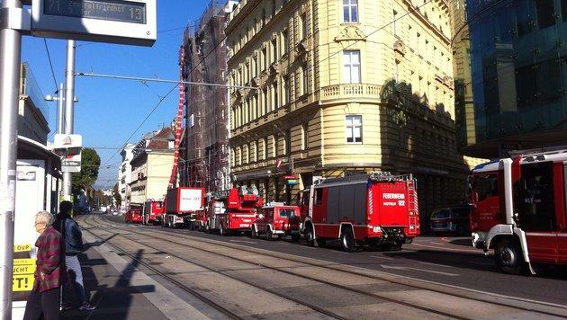 Bei der S-Bahn-Station Rennweg kam es zum Feuerwehreinsatz. (Bild: Kerstin Jagersbacher)