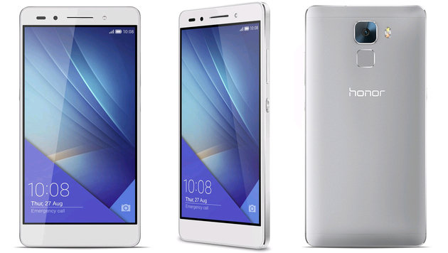 Erschwinglicher High-End-Androide: Honor 7 im Test (Bild: Huawei Honor)