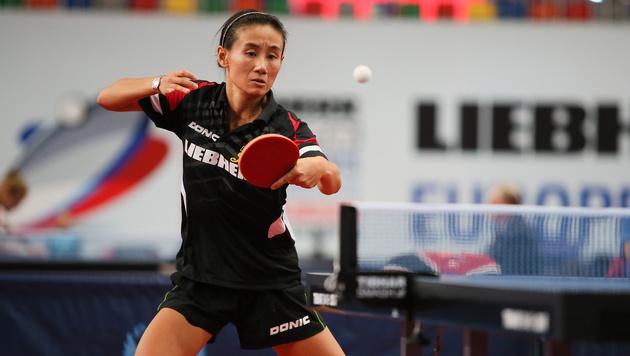 Liu und Fegerl beim Top 16 Cup im Viertelfinale (Bild: GEPA)