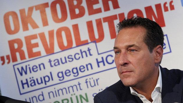 Wien-Wahl: Privatsender lehnen FPÖ-Spots ab (Bild: APA/HERBERT PFARRHOFER)