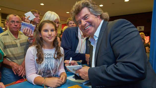 Andy Borgs Fan-Schar will ihn wieder im ORF sehen (Bild: Alexander Tuma)