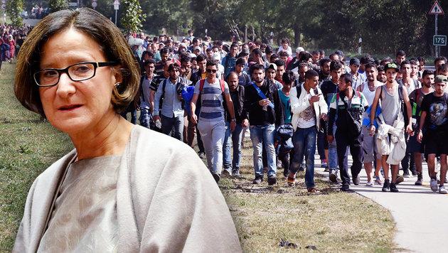 Gesetzesnovelle: Härtere Regeln für Asylwerber (Bild: APA/EPA/OLIVIER HOSLET, APA/HERBERT P. OCZERET)