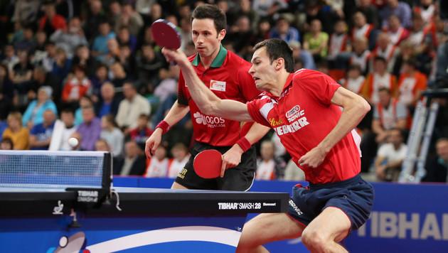 Gold! Fegerl/Monteiro gewinnen EM-Final-Krimi (Bild: GEPA)
