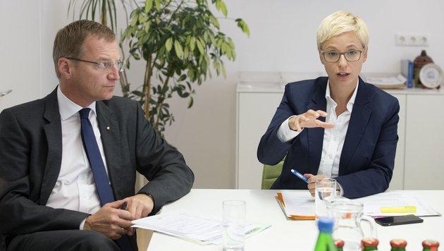 Thomas Stelzer und Doris Hummer (Bild: ÖVPKlub)
