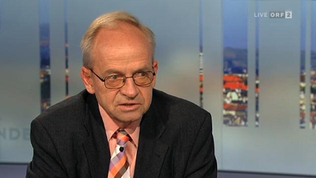 """Wifo-Chef Aiginger hält Probleme für """"managebar"""" (Bild: ORF)"""