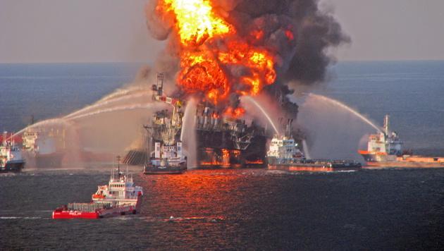"""Deepwater Horizon"" schuld an Delfin-Sterben (Bild: APA/EPA/US COAST GUARD)"